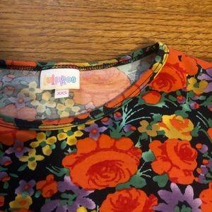 ❤️EUC floral tunic perfect for leggings ❤️
